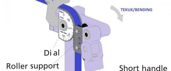 Tube Bender Manual degre